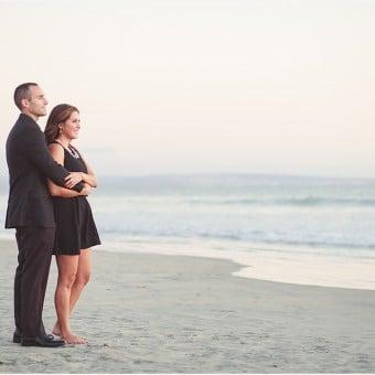 Jason + Katy | San Diego Engagement Beach Photography