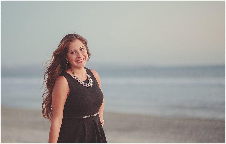 San Diego Engagement Beach Portraits
