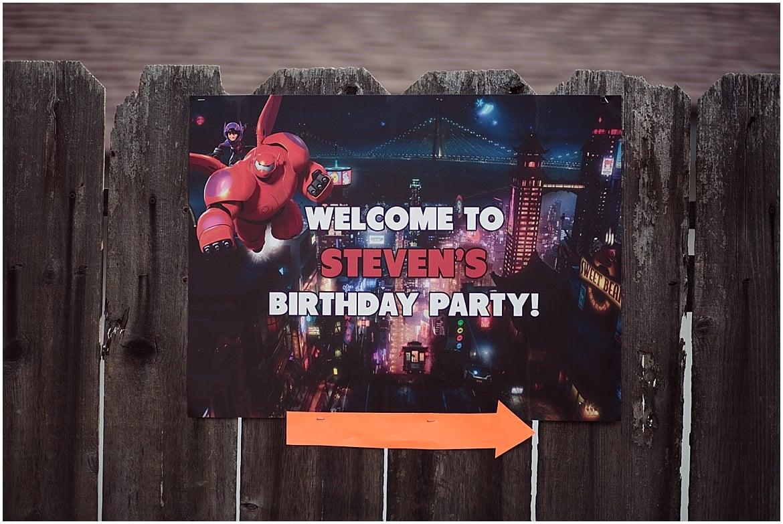 Baymax Birthday Party | San Diego Birthday Party Photographer