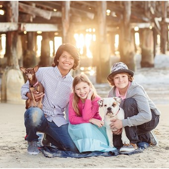 Pacific Beach Family Photography | Crystal Pier