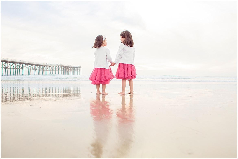 Sisters | San Diego Beach Photography