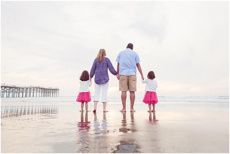 Family on the Beach | San Diego Beach Photography