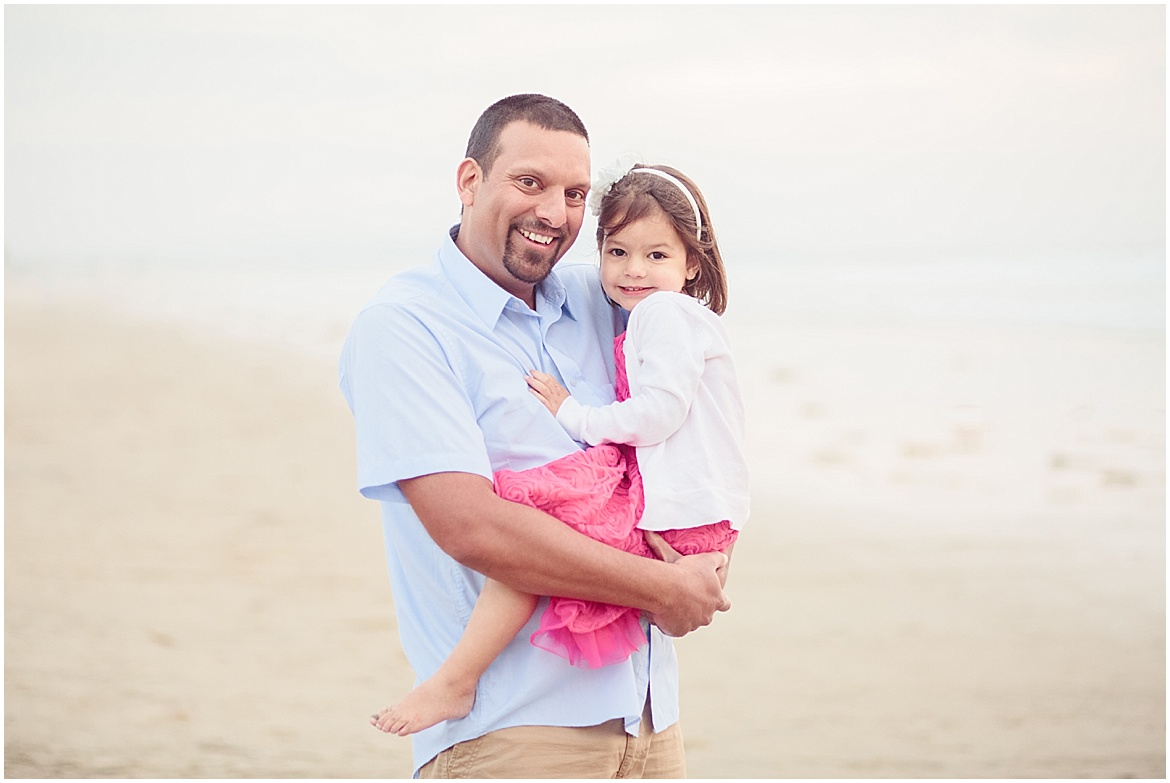 Dad and Daughter | San Diego Beach Photography