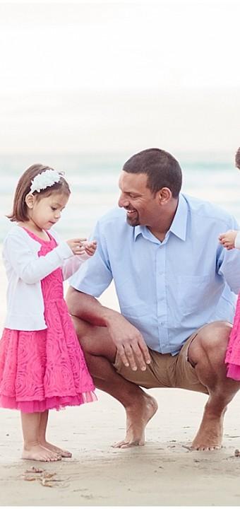 San Diego Family Photographer   Beach Portraits
