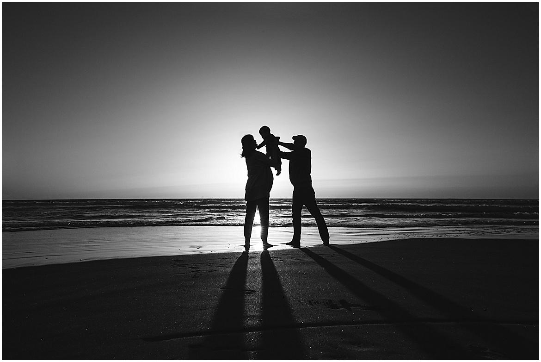 Silhouettes | San Diego Beach Photographer