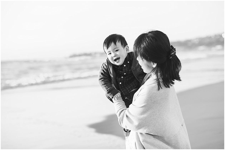 Mom and Baby on the Beach | San Diego Beach Photographer
