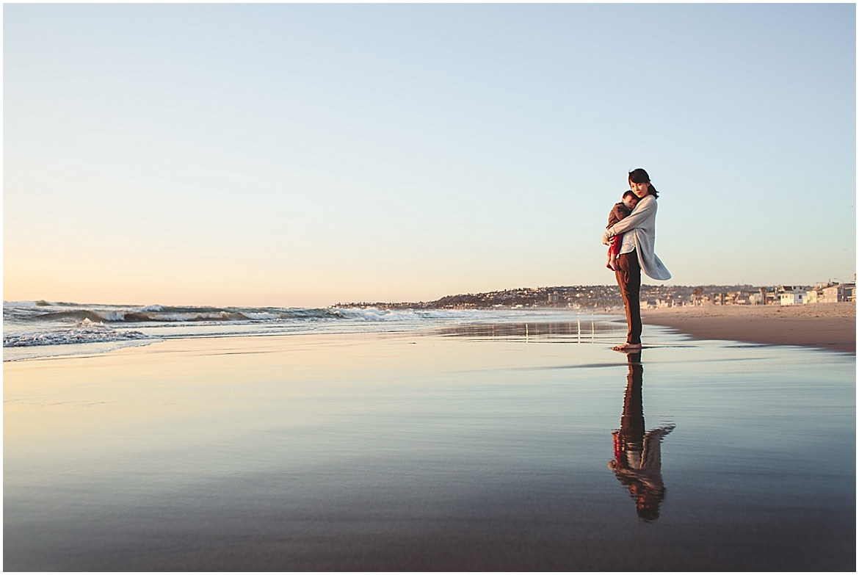 Reflection | San Diego Beach Photographer
