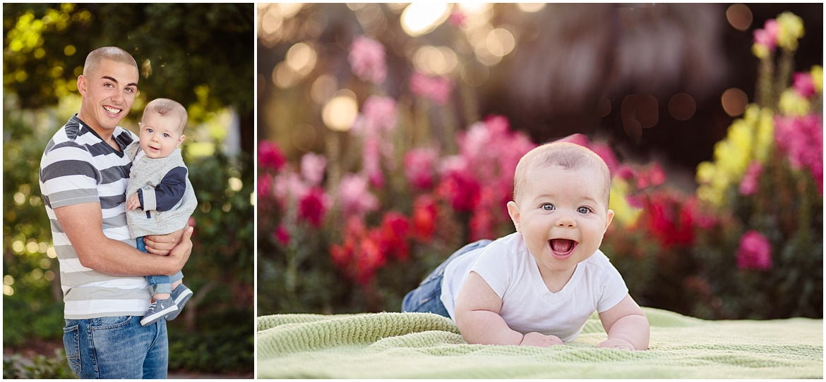 Baby Photography | Balboa Park San Diego Infant Photos