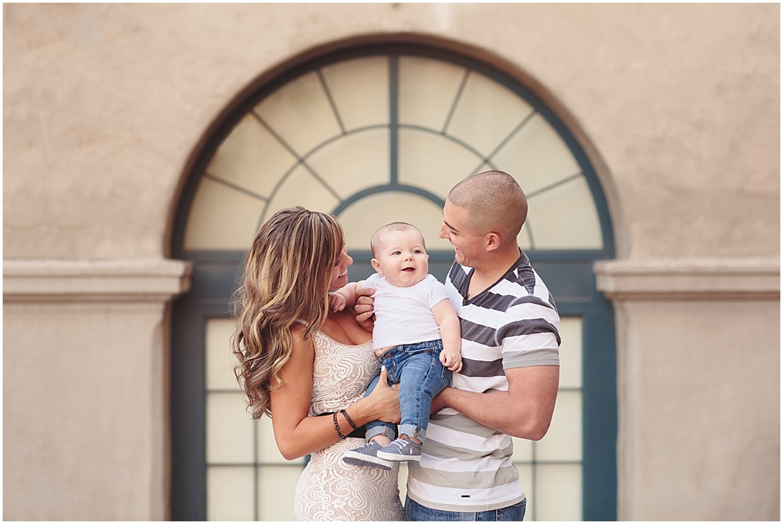 Baby Photography | Balboa Park San Diego Infant Photos