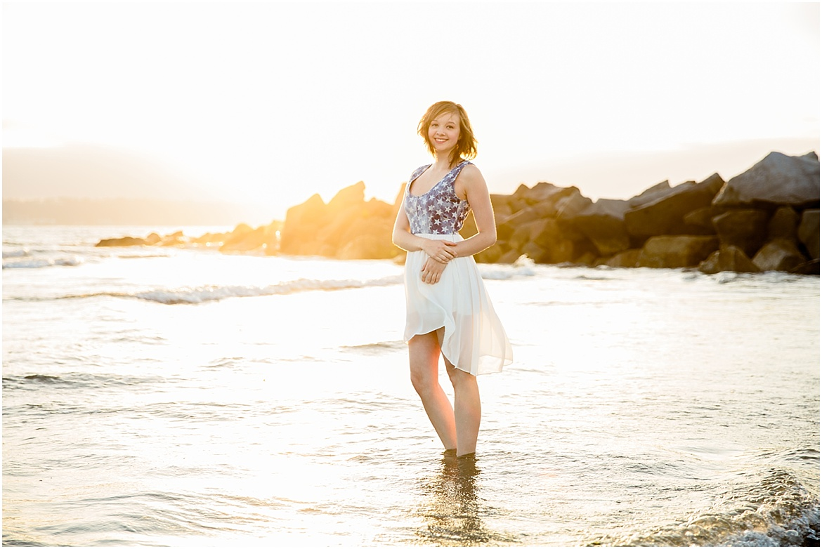 San Diego Senior Beach Photography