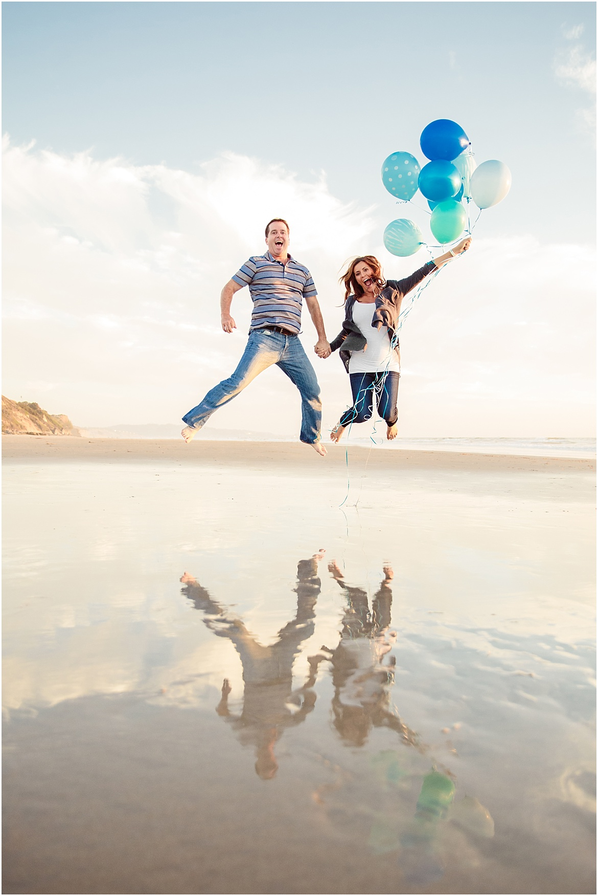 San Diego Family Photography | Gender Reveal Blue!