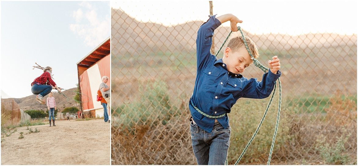 Oma's Pumpkin Patch Lakeside | Family Photography San Diego