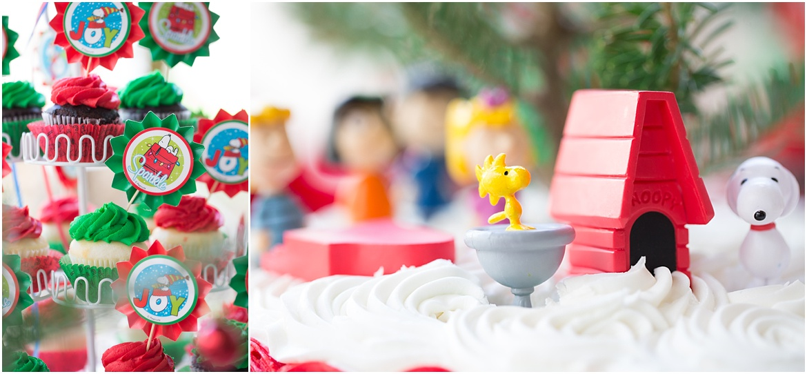 San Diego Child Photography | Charlie Brown Christmas Party