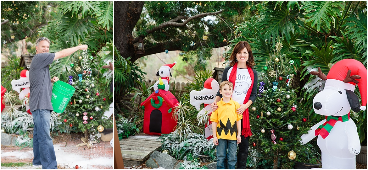 Faux Snow Party | Charlie Brown Peanuts Party