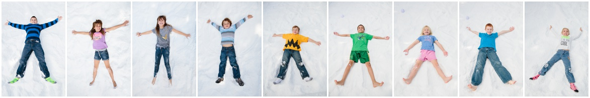 Snow Angels | Charlie Brown Peanuts Party