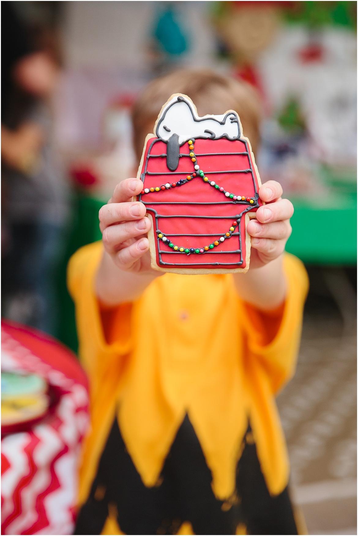 828 Bakes | Charlie Brown Peanuts Party