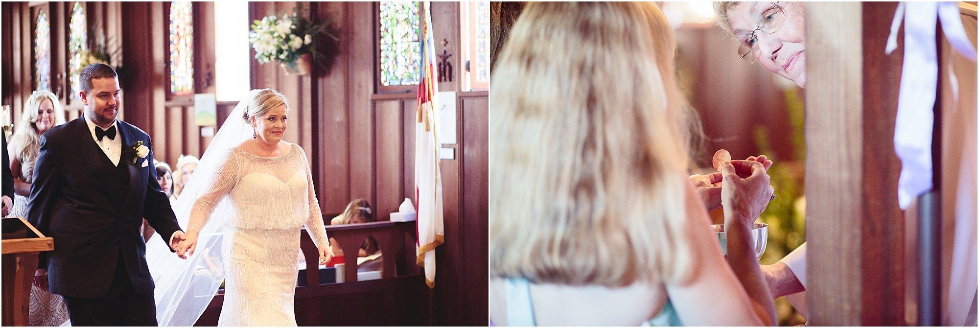 San Diego St. Peter's Church Wedding