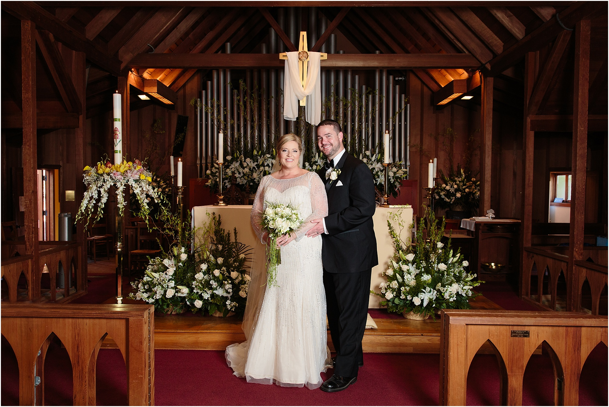 San Diego St. Peter's Church Wedding