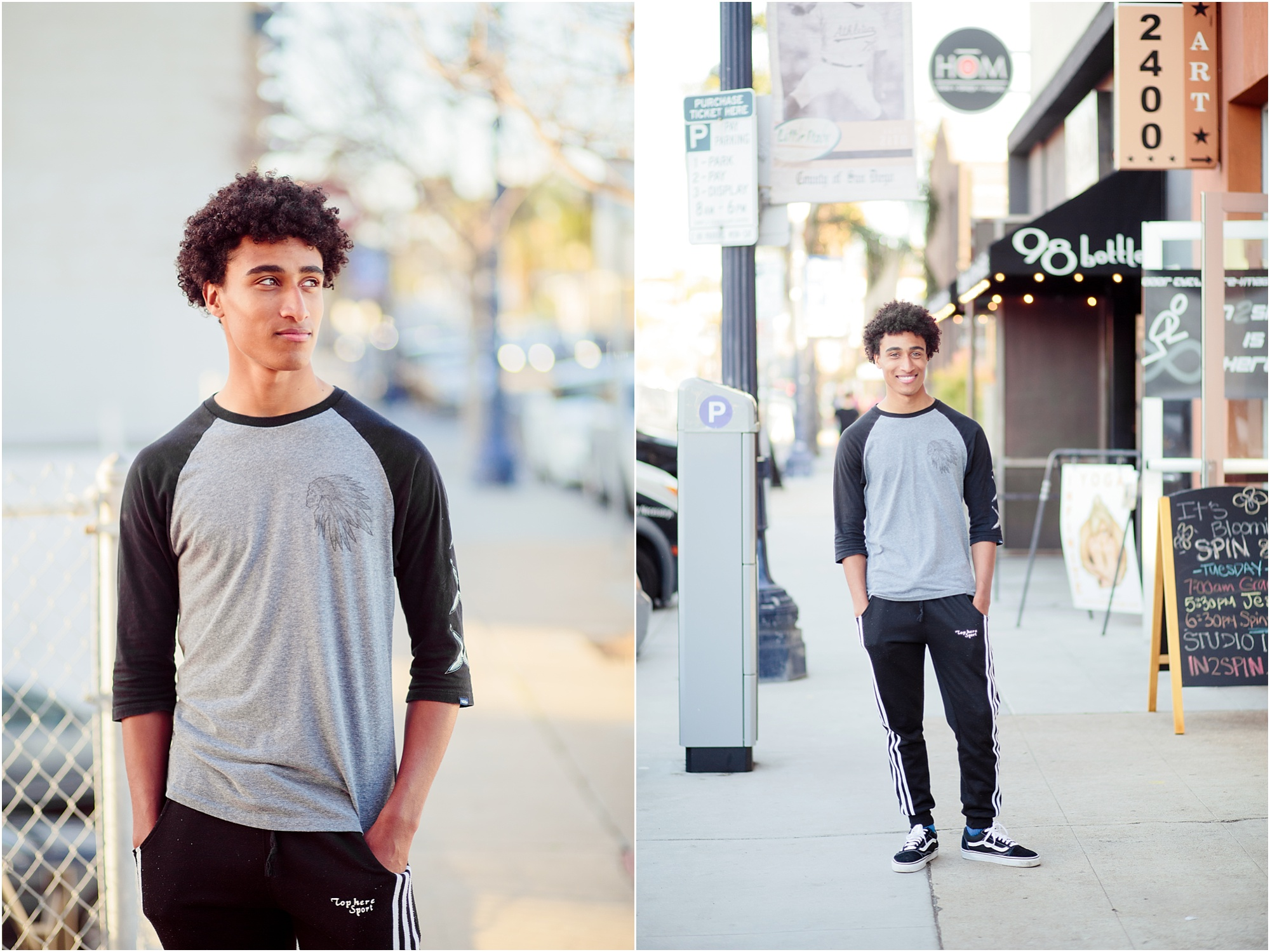 San Diego Senior Photography | Little Italy