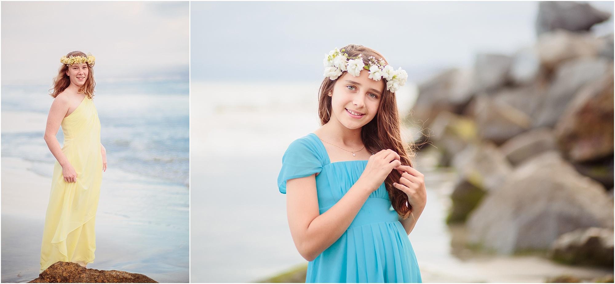 San Diego Tween Photography   Beach Portraits