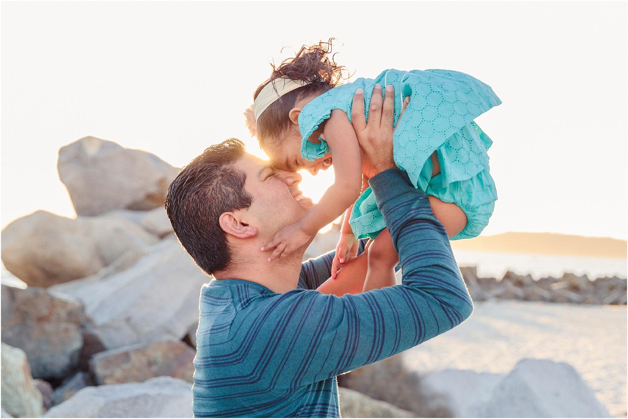 Fatherhood | San Diego Beach Photography