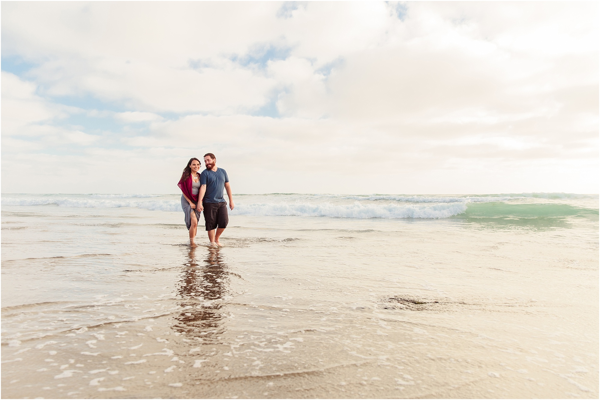 Crystal Pier San Diego Beach Photography | Couple Session
