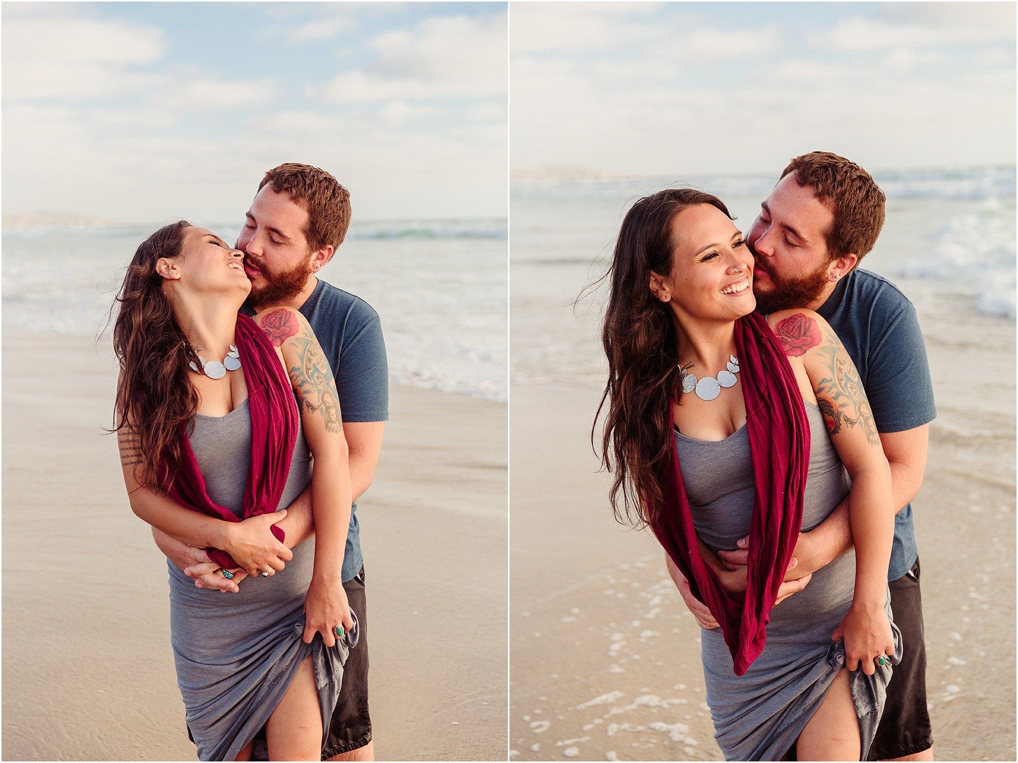 Crystal Pier San Diego Beach Photography | Couple Session