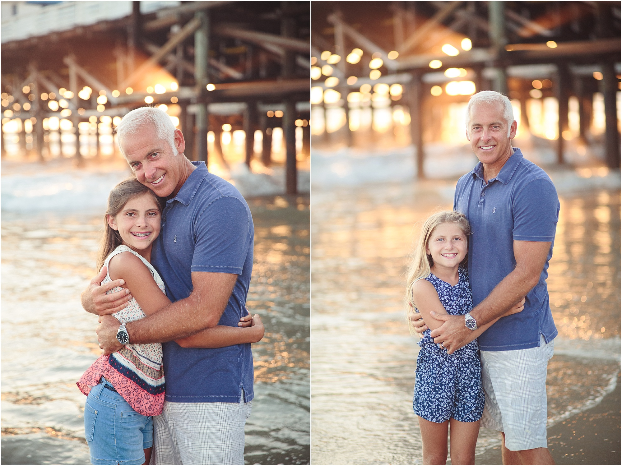 Beach Portraits | Pacific Beach Crystal Pier