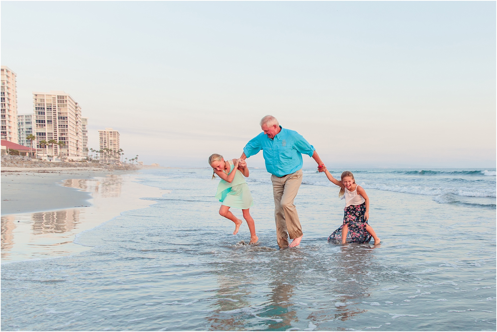 Grandchildren | Granddaughters on the Beach