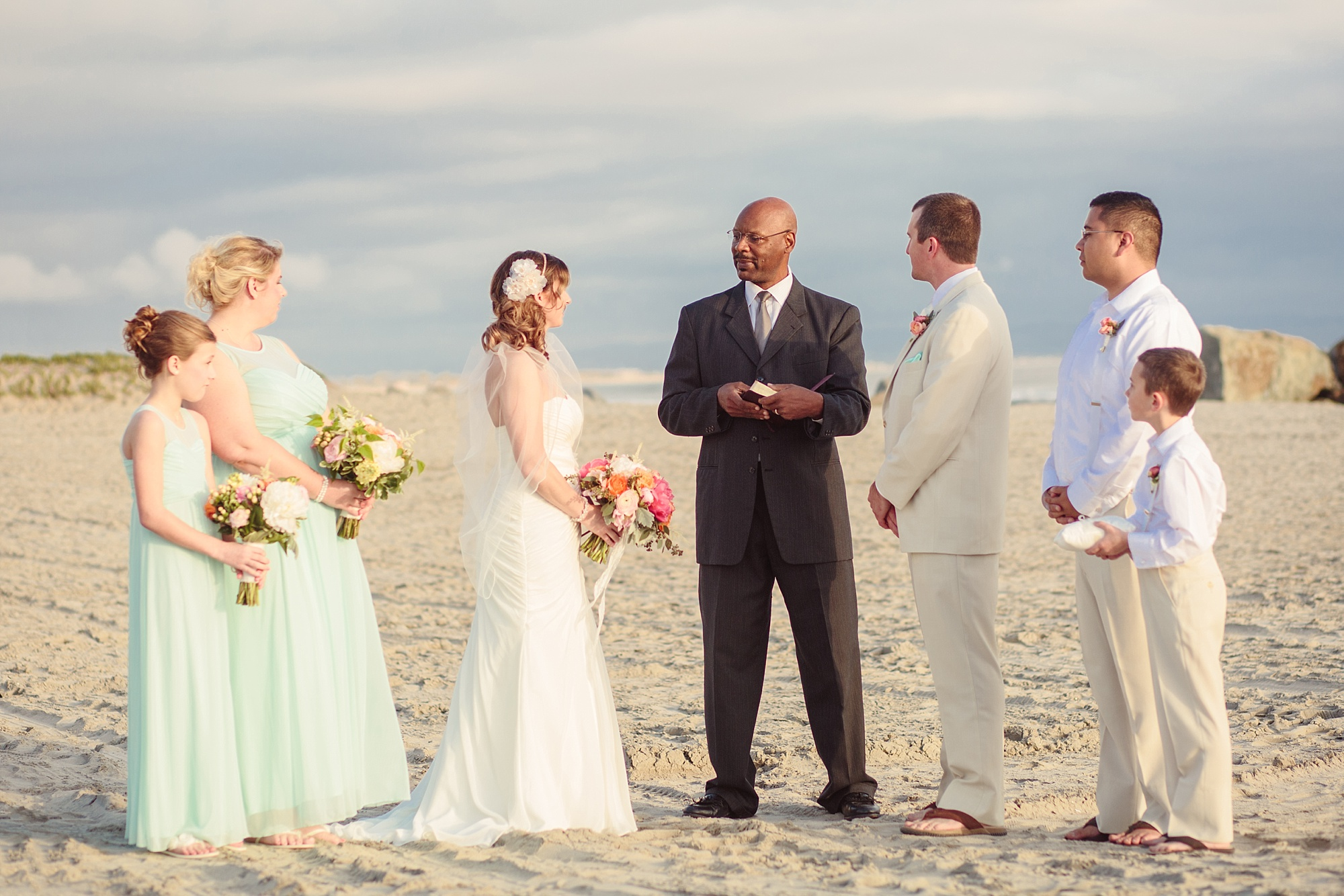Traditional Beach Wedding | San Diego Photos