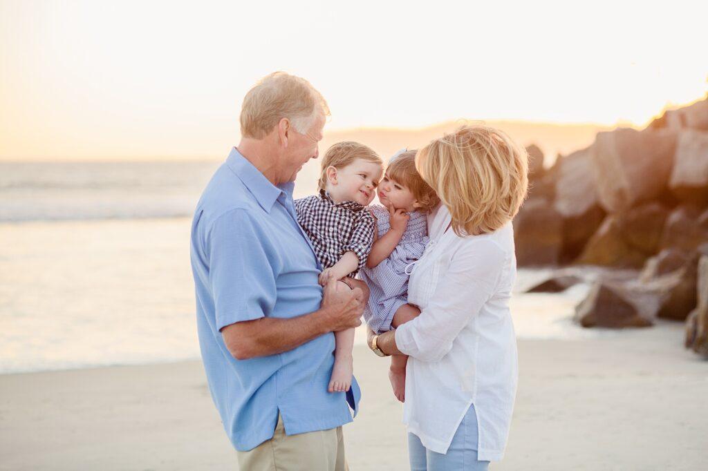 Extended Family Beach Photographer Coronado