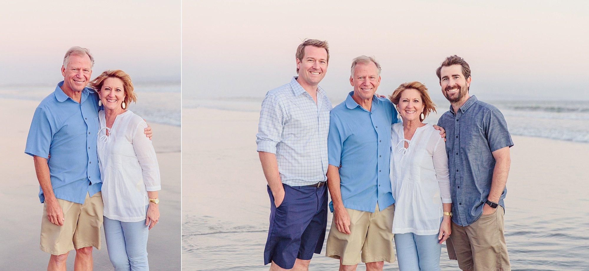 Extended Family Coronado Photographer | Beach Pictures