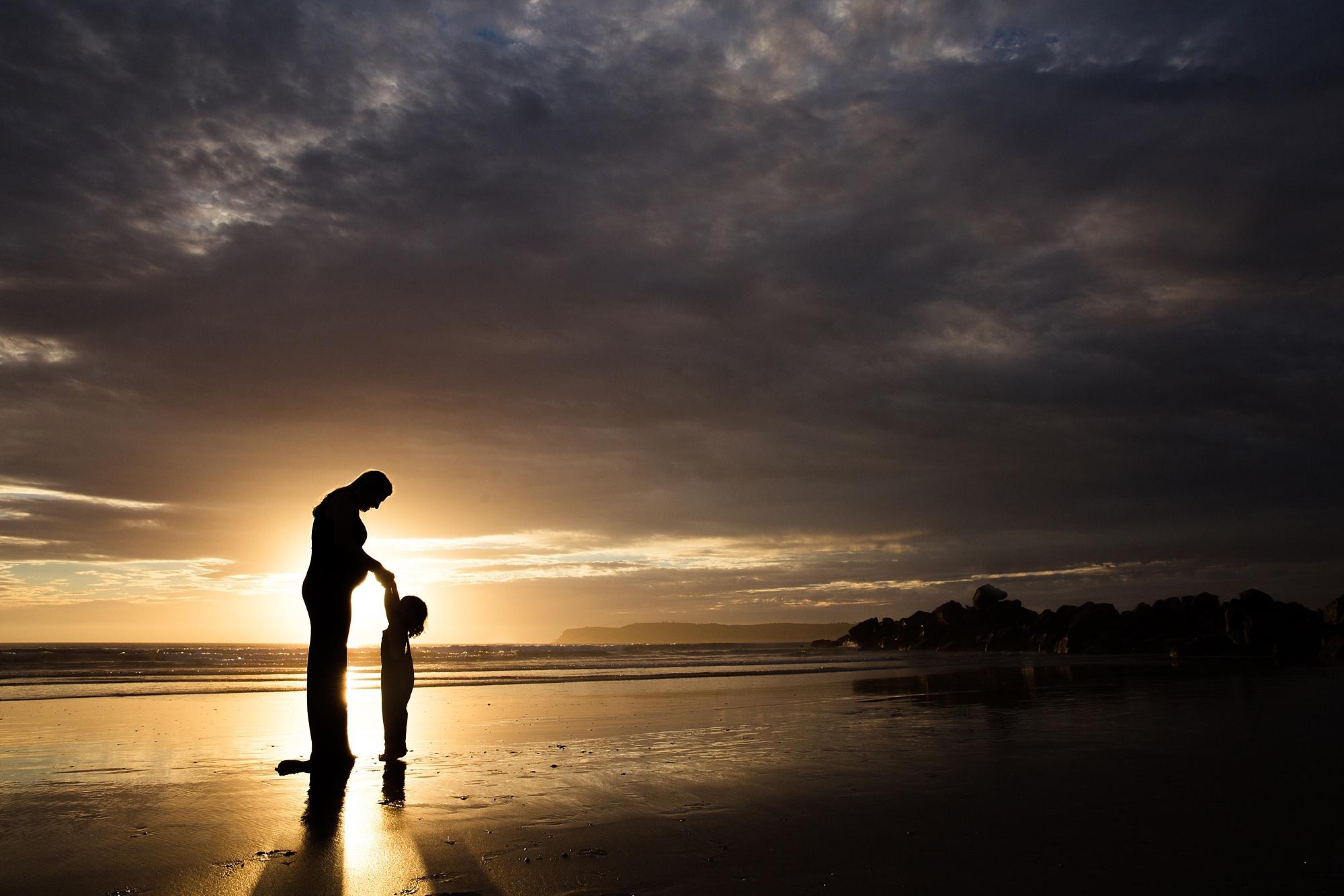 San Diego Photography   Beach Maternity Photos