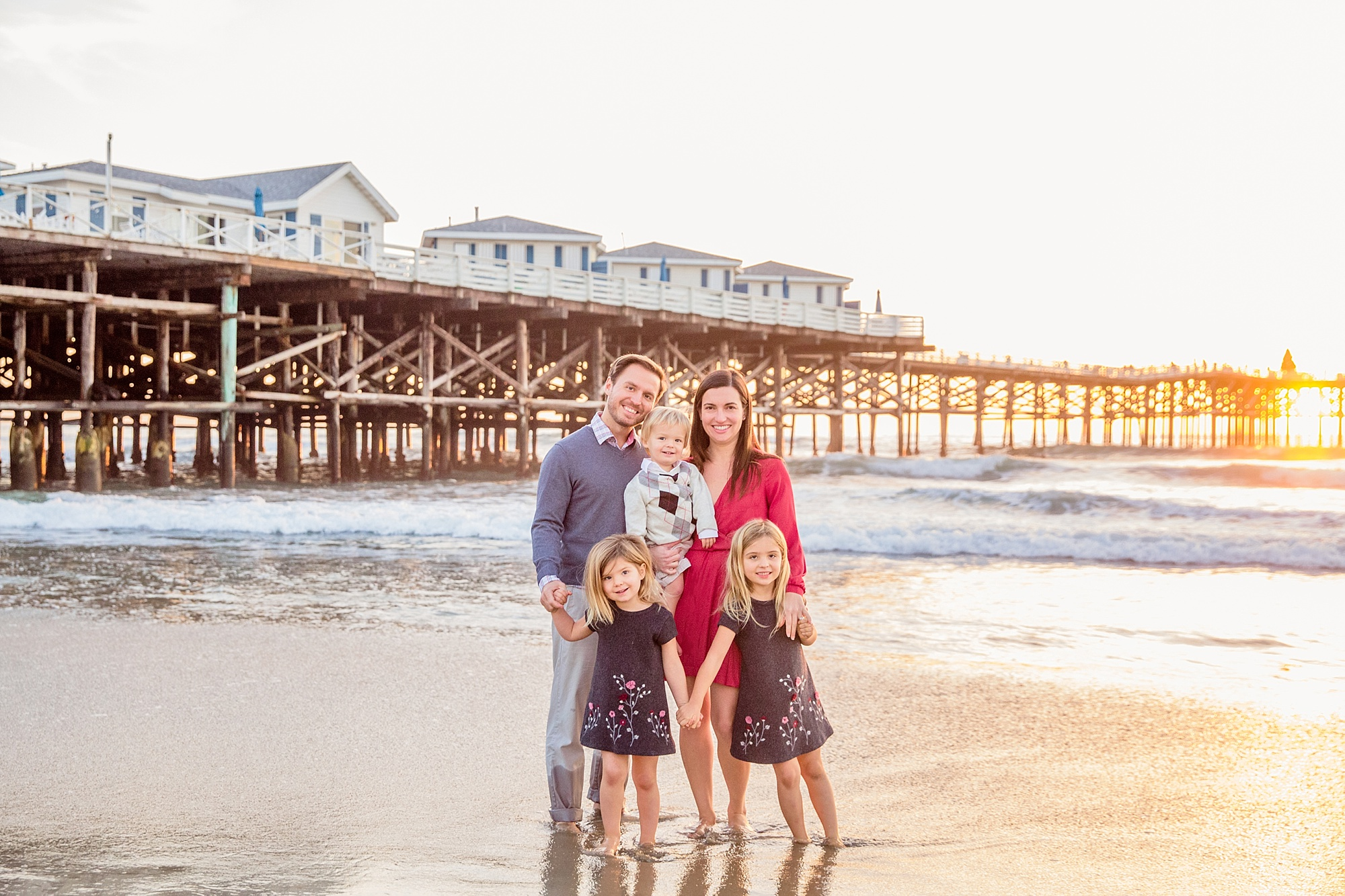 San Diego Photographer | Crystal Pier Pacific Beach