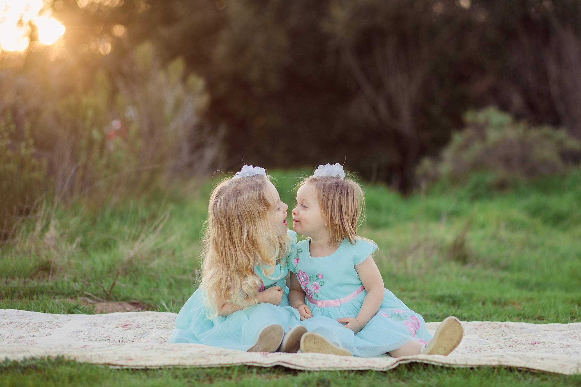 San Diego Photographer | Little Girls | Cousins