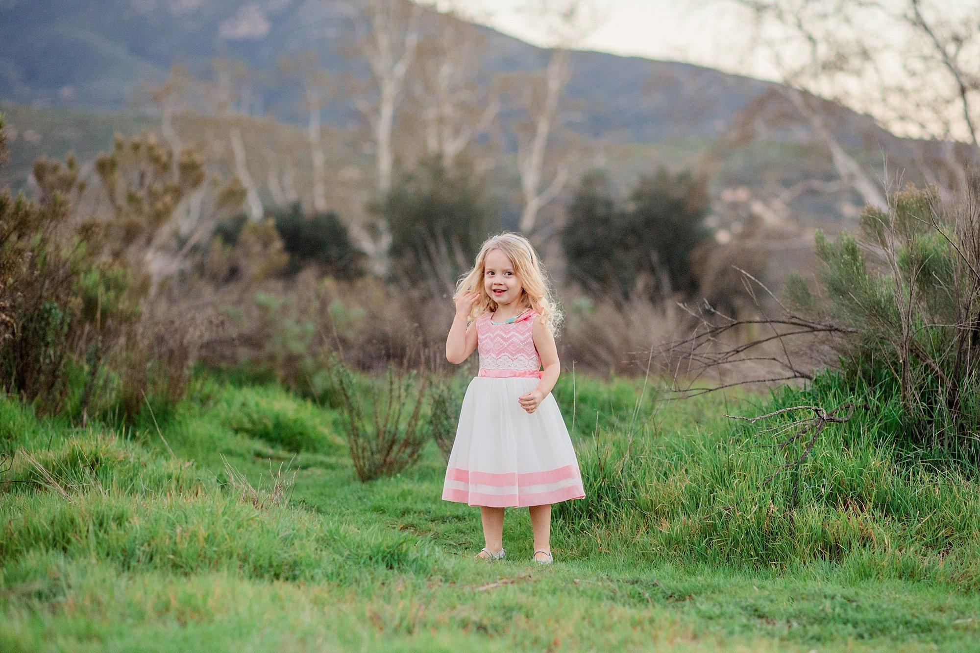 San Diego Photographer | Little Girls | Cousins