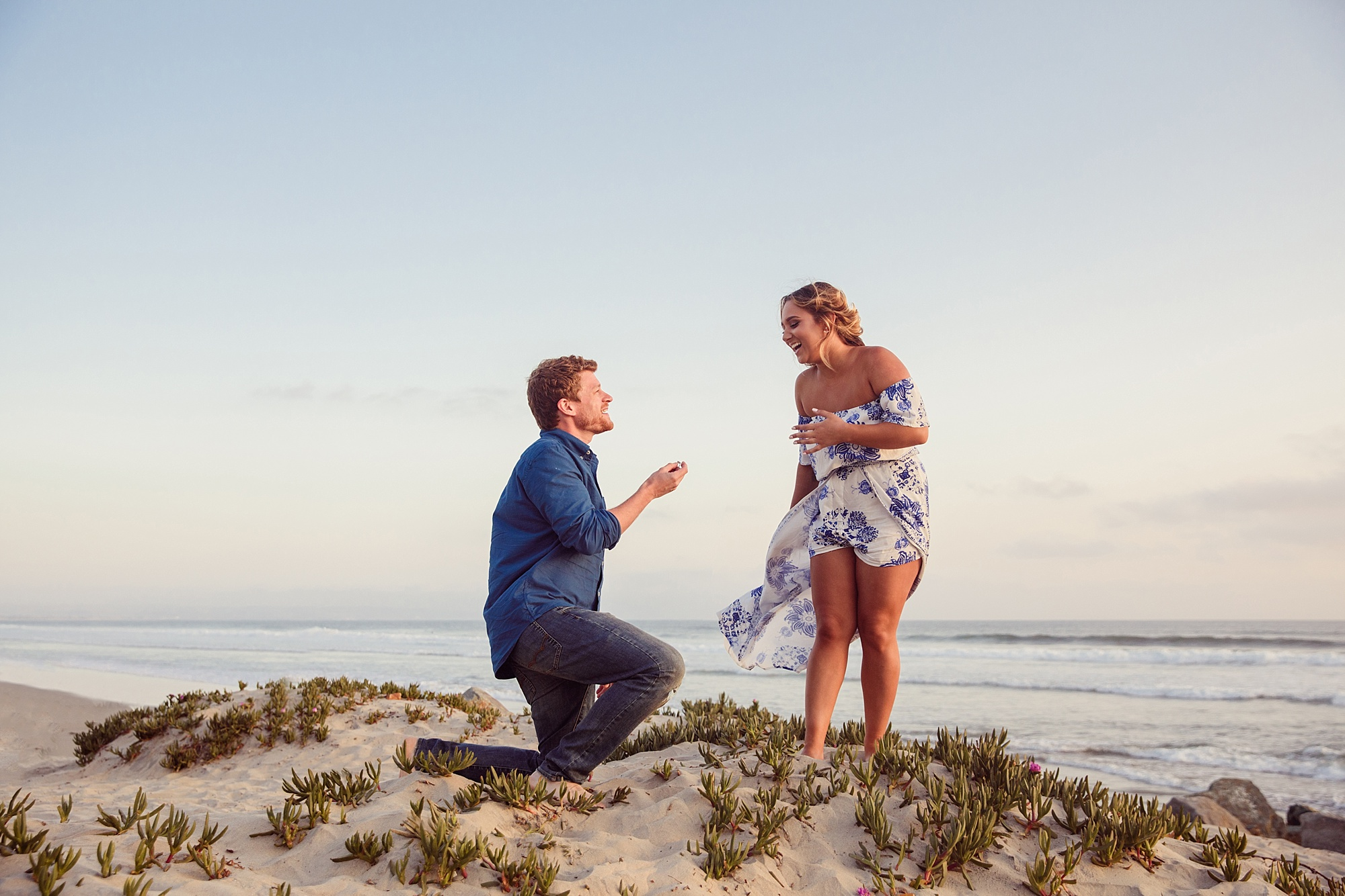San Diego Proposal Photographer | Beach Photography Coronado