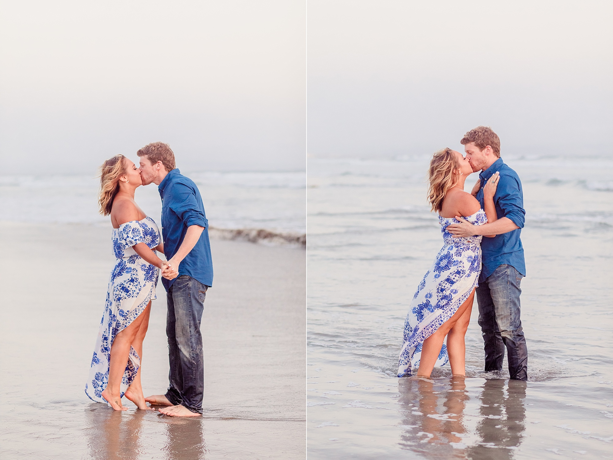 San Diego Family Photographer | Kissing