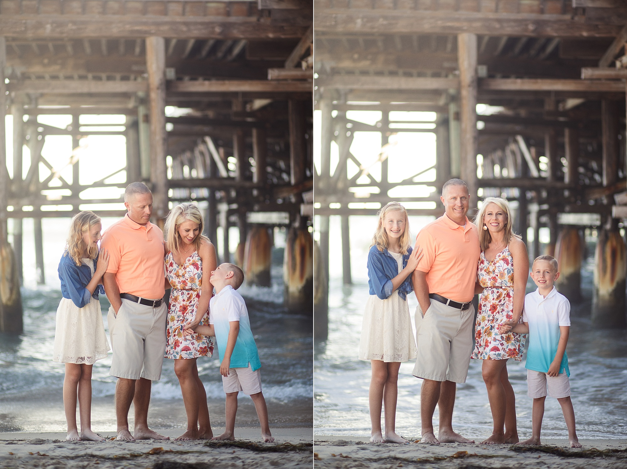 San Diego Family Photographer | Crystal Pier