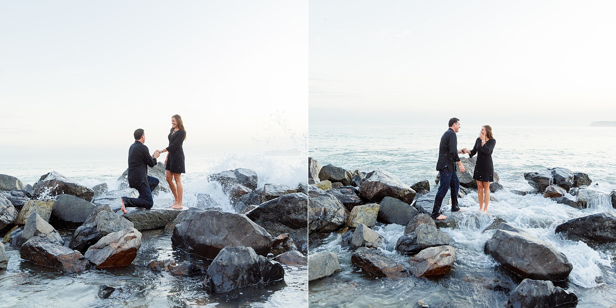 Photographers in San Diego | Beach Proposal at the Del