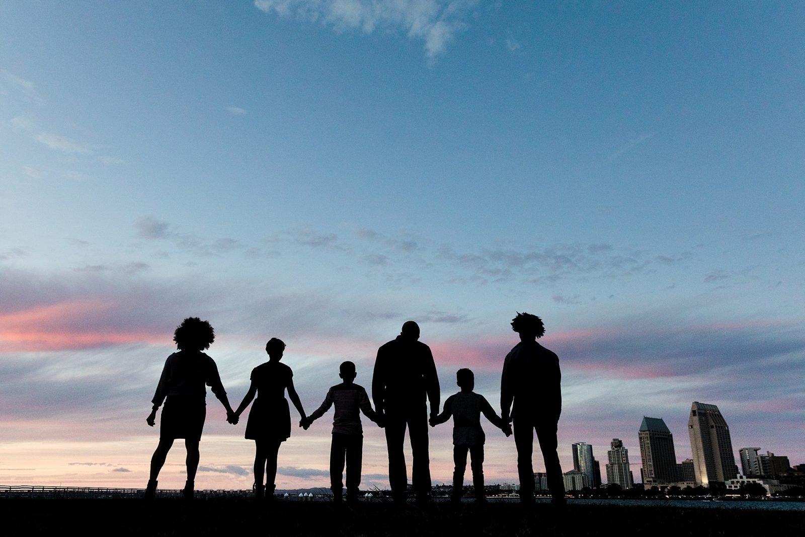 San Diego Skyline Photos   Family Photographer