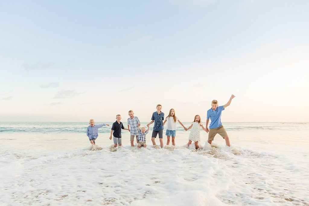 Extended Family Beach Shoot