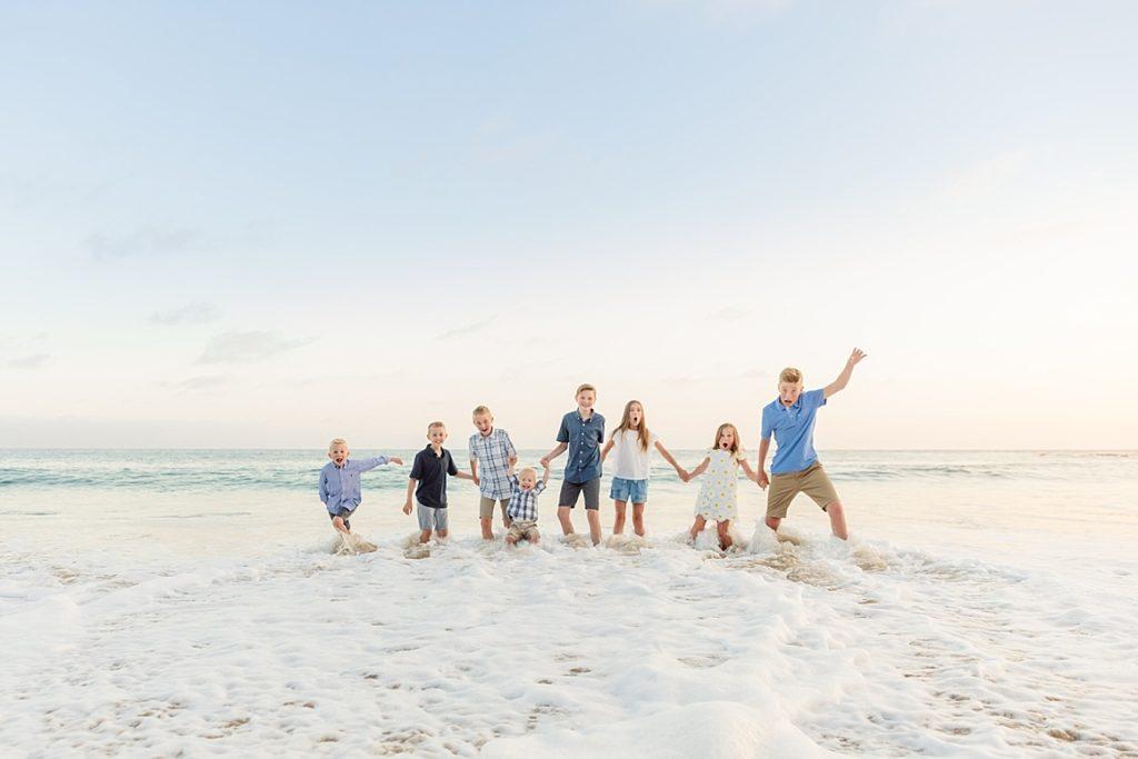 Extended Family Beach Shoot