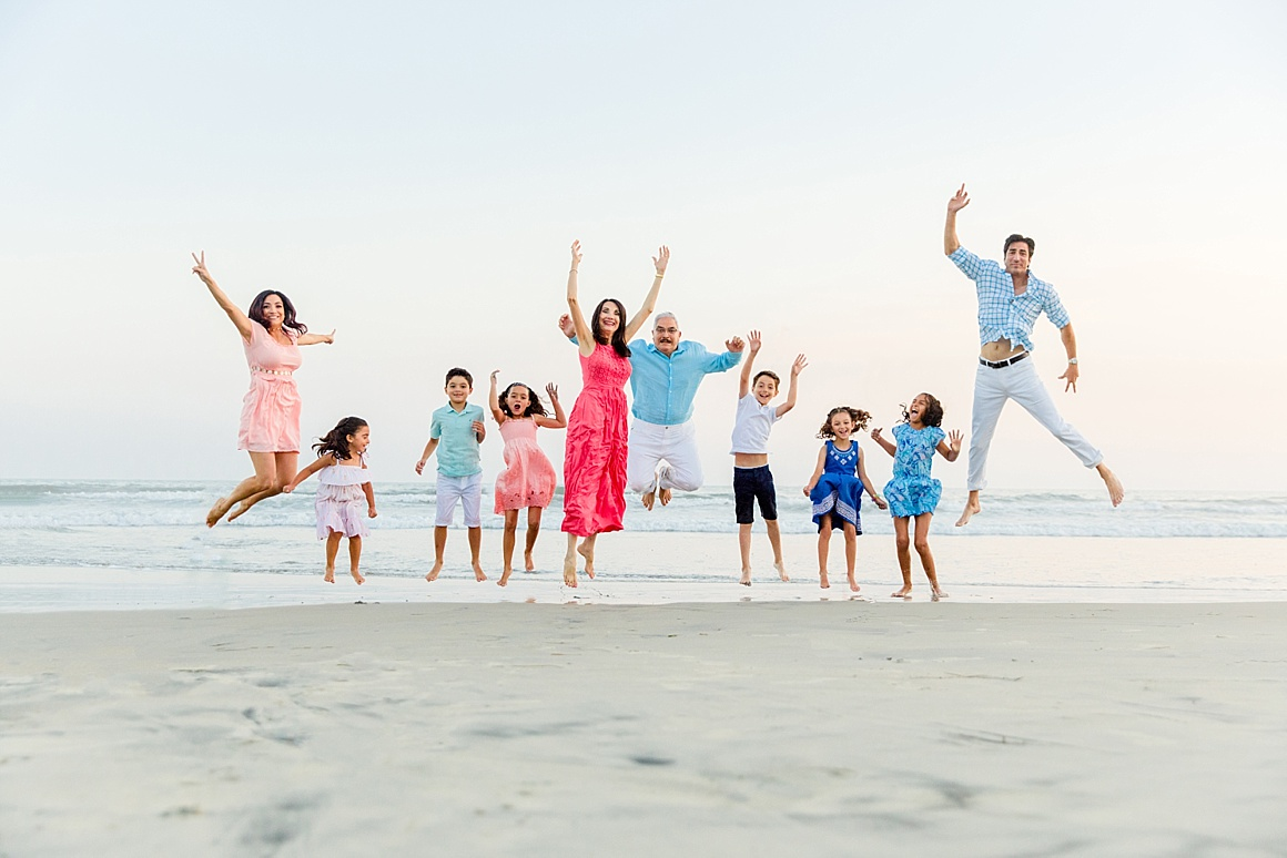 Extended Family Portraits | San Diego Portrait Photography