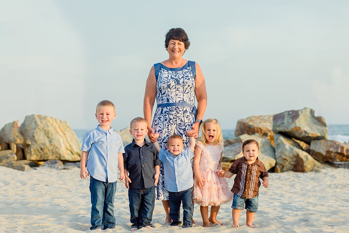 California Photographer | Vacation Family Portraits San Diego
