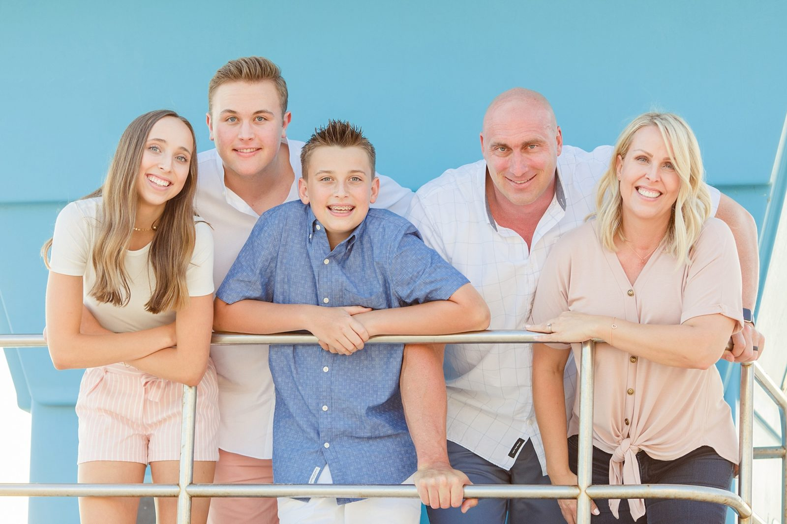 Family Photos San Diego | Lifeguard Tower Photos
