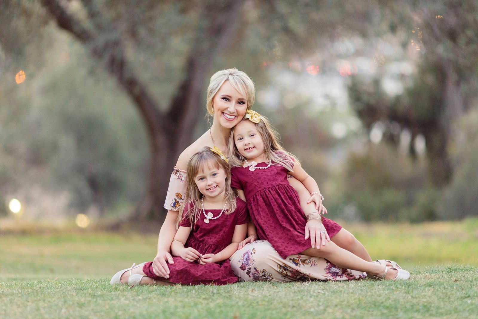 Mom and Daughters | San Diego Photographer