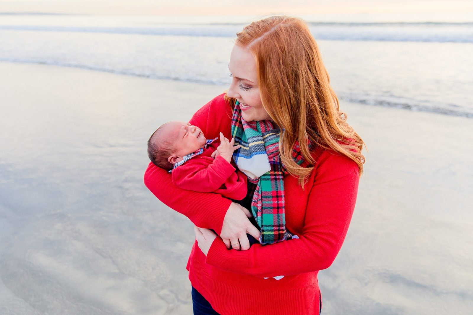 Mother and Child | Hotel del Coronado Christmas
