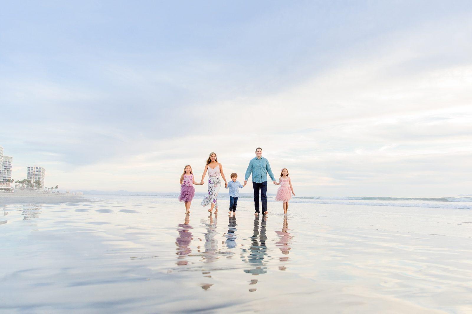 Reflection Shot | Walking on the Beach