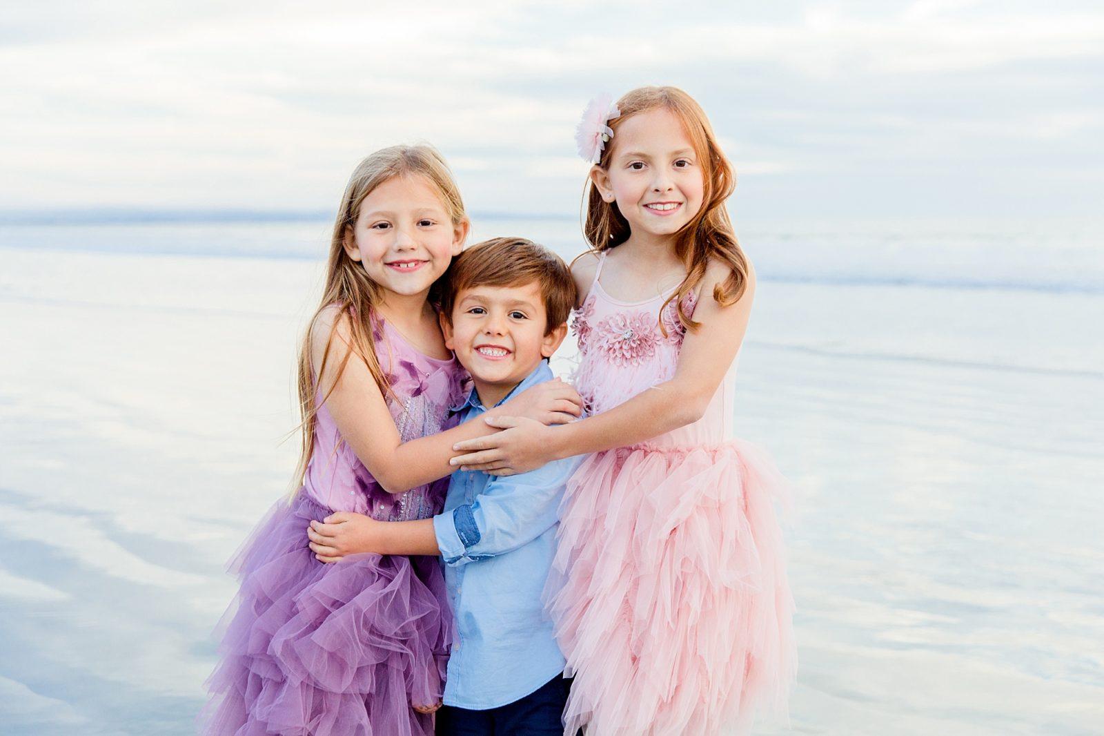 Siblings | Hugs | San Diego Child Photographer